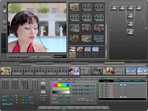 Blackmagic DaVinci Resolve interface