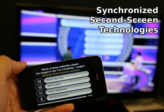 Synchronized Second-Screen technologies panorama