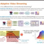 InterDigital User Adaptive Streaming principle